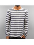 Authentic Style Langermet Stripes blå