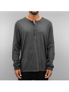 Authentic Style Longsleeve Dyed grau