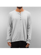 Authentic Style Longsleeves Dyed szary