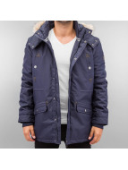 Authentic Style Manteau hiver Parka bleu