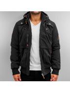 Authentic Style Manteau hiver Albin noir