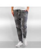 Pattern Pants Graphic Bl...