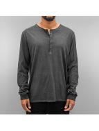 Authentic Style Pitkähihaiset paidat Dyed harmaa