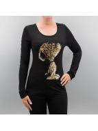 Authentic Style Pitkähihaiset paidat Style musta