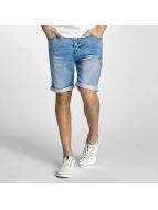 Authentic Style Shorts Sublevel Haka Bermuda Jogg Denim blau