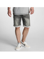 Authentic Style Shorts Sublevel Haka Bermuda Jogg Denim grau