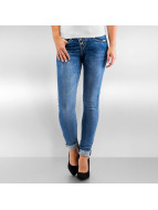 Authentic Style Skinny jeans Amy blauw