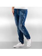 Authentic Style Skinny Jeans Feather niebieski