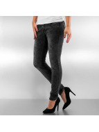 Authentic Style Skinny jeans Roses zwart