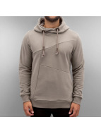 Authentic Style Sweat à capuche Modern Style brun