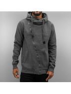 Authentic Style Sweat à capuche zippé Sweat gris