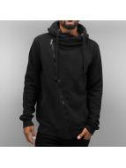 Authentic Style Sweat à capuche zippé Sweat noir