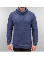 Authentic Style Swetry Knit niebieski