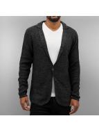 Authentic Style Swetry rozpinane Strick czarny