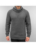 Authentic Style Swetry Knit szary