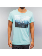 Authentic Style T-Shirt Limits turquoise