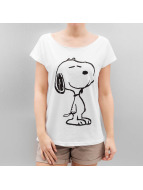 Authentic Style T-Shirt Sublevel Peanuts weiß