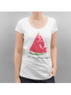 Authentic Style T-Shirts Summer Fruit beyaz
