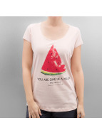 Authentic Style T-Shirts Summer Fruit pembe