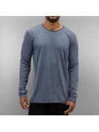 Authentic Style Tričká dlhý rukáv Soft modrá