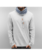 Authentic Style trui Style Hoody grijs