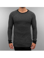 Authentic Style trui Raglan zwart