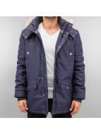 Authentic Style Veste d'hiver Parka bleu