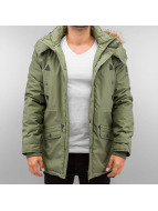 Authentic Style Winterjacke Parka olive