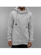 Authentic Style Zip Hoodie Sweat grå