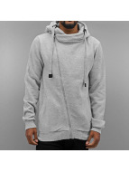 Authentic Style Zip Hoodie Sweat grau