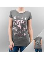 Babystaff T-Shirt Enkova grau