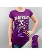Babystaff t-shirt Legra paars