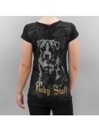 Babystaff t-shirt Geza zwart