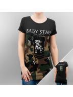 Babystaff T-shirtar Sula svart