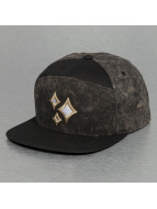 Acid Wash Snapback Cap B...