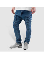 Bangastic Embroidery Antifit Jeans Blue