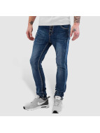 Bangastic Open Placket Jeans Blue
