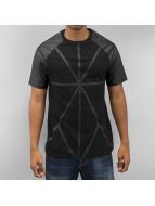 Applikation T-Shirt Blac...