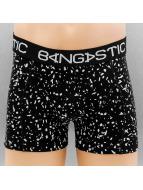 Bangastic boxershorts Speckeld zwart
