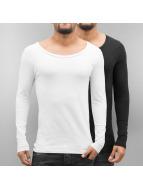 Bangastic Camiseta de manga larga 2-Pack negro