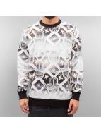 Hand Sweatshirt White/Bl...