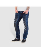 Bangastic Dirty Straight Fit Jeans blue