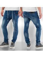Bangastic Drawstring Skinny Jeans Blue