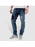 Bangastic Jeans Straight Fit Washed bleu