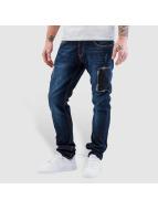 Bangastic Jeans Straight Fit Fonder bleu