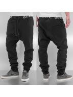 Bangastic Jogging kalhoty Anti Fit čern