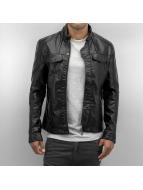Bangastic Leather Jacket PU black