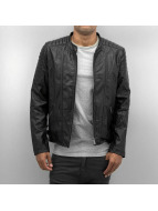 Bangastic Leather Jacket Perforated black