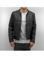 Bangastic leren jas Perforated zwart