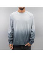 Bangastic Maglietta a manica lunga AE189 Oversize blu